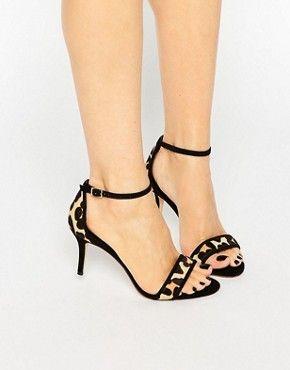 Sandalias de tacón | Sandalias con tira al tobillo, tacón alto y tacón de aguja |ASOS