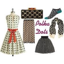 polka dot fashion trend - Google-Suche