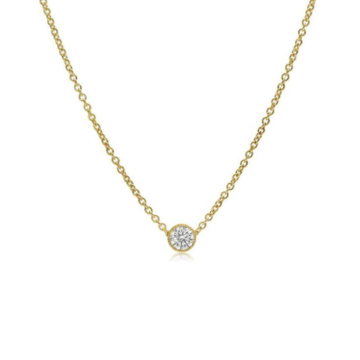 PETITE DIAMOND PENDANT