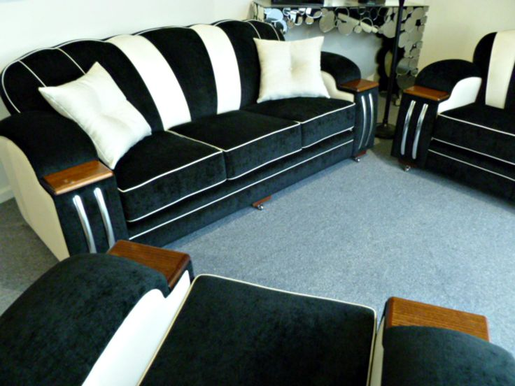 17 best images about art deco lounge suites on pinterest for Art deco style lounge