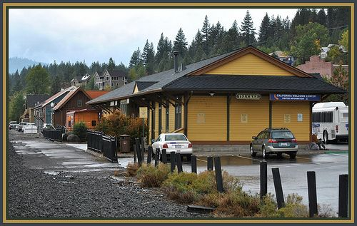Truckee California Railroad Station / http://www.sleeptahoe.com/truckee-california-railroad-station/
