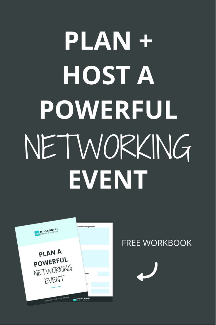I've hosted over 50 networking events and have laid out every single step of the process in this 6,000 word monster that will walk you through every. single. step. Click through to learn how to put on an AWESOME networking event and get the workbook to plan your own!