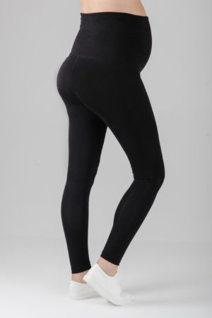 400826b4e871a Cosy-comfy and fully flexible maternity exercise leggings! Look great in  the gym, on a run, or equally as stylish everyday with a dress!