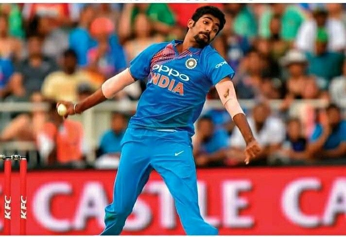 Indian Pace Bowler Jasprit Bumrah World Cricket Sports Celebrities Bowler