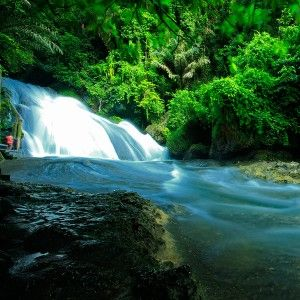 Bantimurung Waterfall In the South Sulawesi, Indonesia