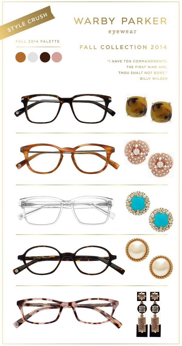 You may know Warby Parker for their fabulous designer frames! Well, coming from an avid eyeglass connoisseur, I have to say their new collection for Fall is so chic! I'm especially loving the clear...