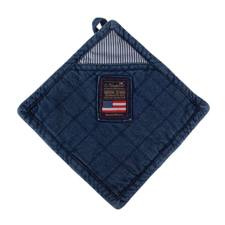 Potholder - Newport - Newport - RoyalDesign.com #newport #newportlife #denim #royaldesign