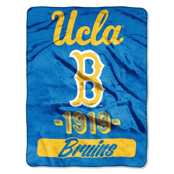 UCLA Bruins NCAA Micro Raschel Blanket (Varsity Series