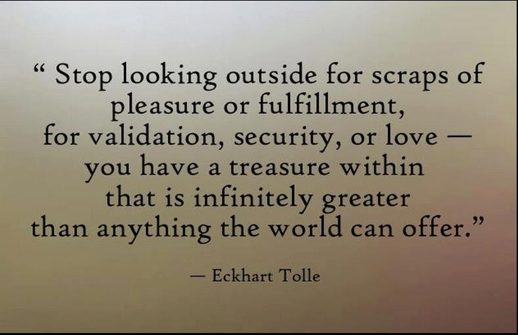 You have a treasure within~