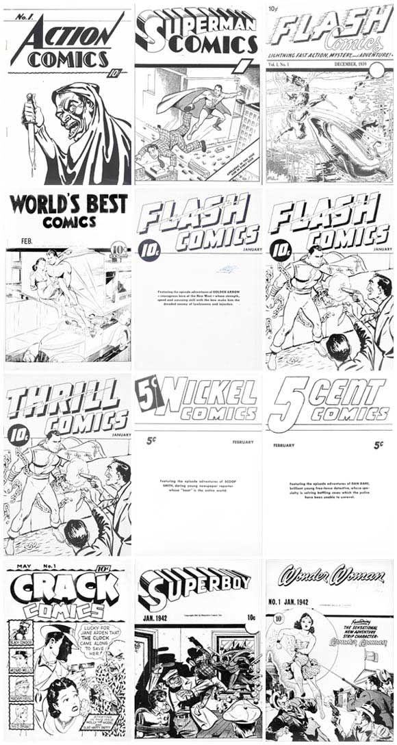 Golden Age Ashcan Comics. Click the pic and find out more...