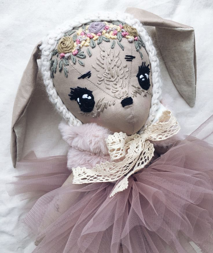 """694 Likes, 65 Comments - Robin & Friends (@robinsfriends) on Instagram: """"Bunny! One of the toys that will be in my store on January 26! . #etsy #deer #toy #doll #fawn…"""""""