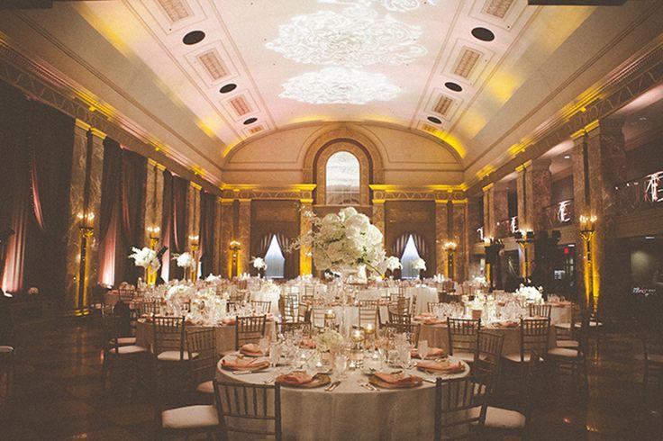 Creative wedding photography - St Louis - - Coronado Ballroom - pink and gold wedding - Hawes Photography
