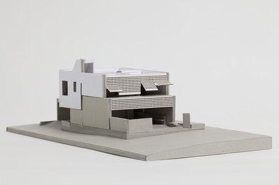 Architectural Model - Blinco Street House, South Fremantle.  Philip Stejskal Architecture