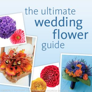 Your Guide to Wedding Flowers. It helps give you an idea for the cost, colors and what the flower actually is