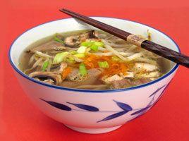 SOSCuisine: Soupe orientale au boeuf et légumes