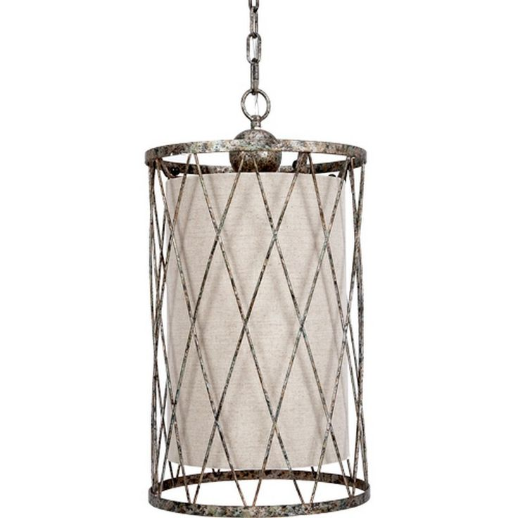 "Open Weave Pendant With Natural Linen Shade P-1071 - Old World Design Open Weave Pendant With Natural Linen Shade And Aged Silver Finish P-1071SKU: P-1071Manufacturer: Old World DesignCategory: LightingSub-Category: ChandeliersFinish: Natural & SilverProduct Type: LightingDimensions: 13""Diam. X 24""H"