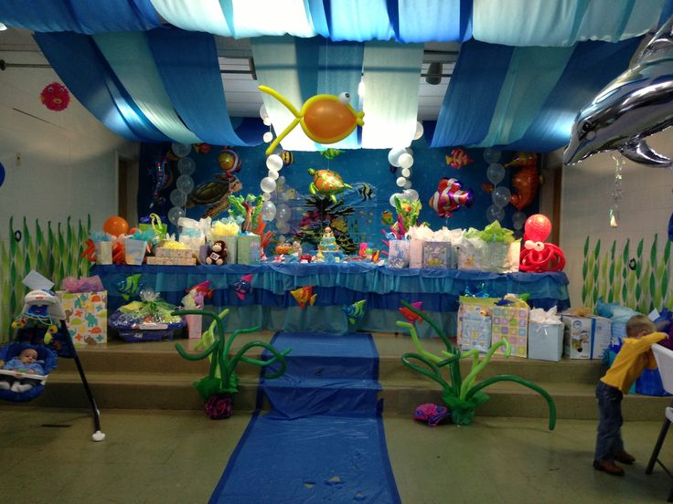 Under The Sea Baby Shower Decorations Under The Sea Baby