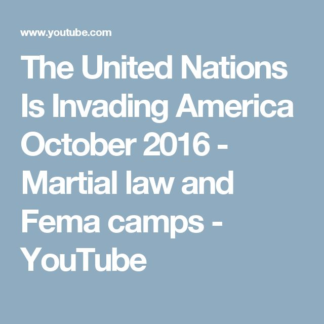 Best Fema Death Camps Images On   Conspiracy