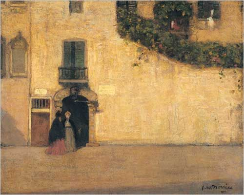 Campo San Giovanni Nuovo Venice Canvas by James Wilson Morrice