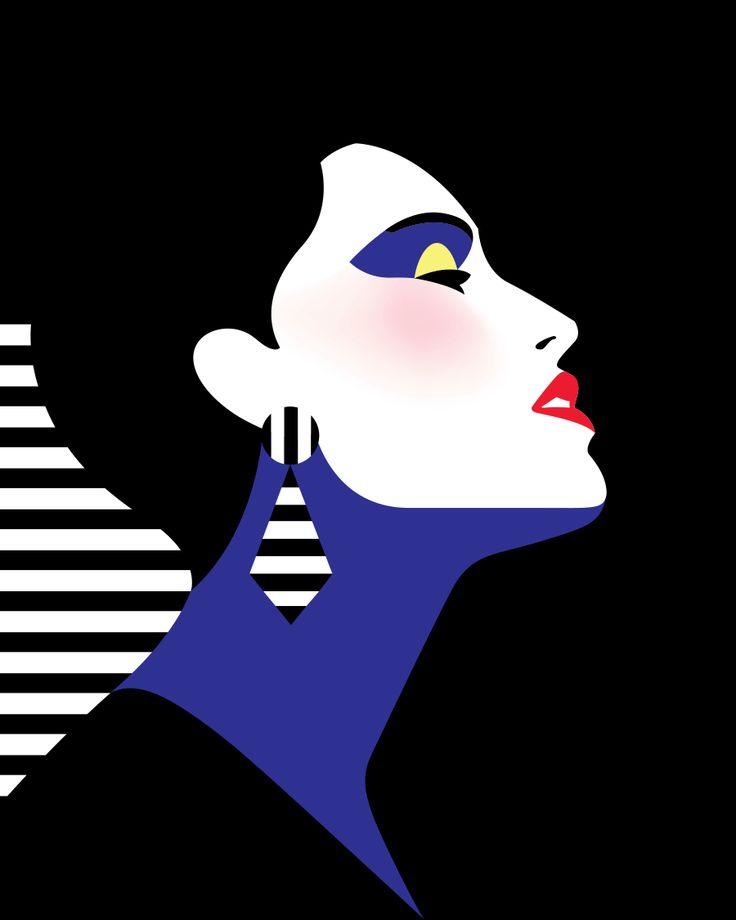 Malika Favre - art illustration