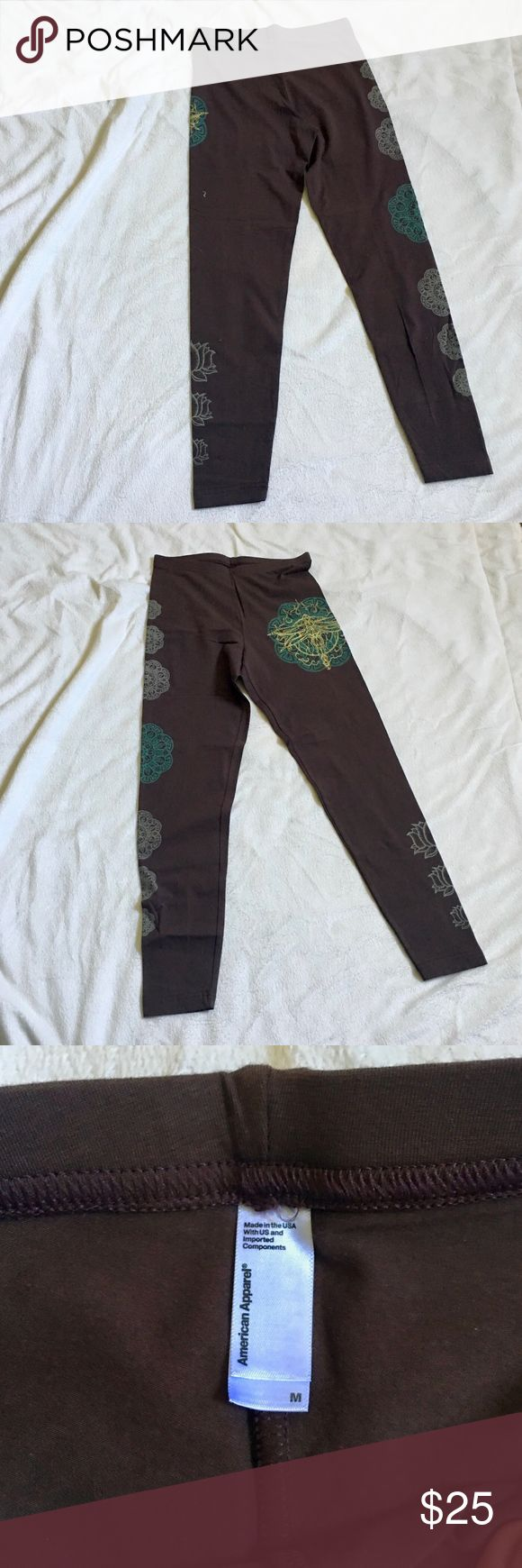 American Apparel Leggings Hippy, bohemian print leggings. Perfect for yoga or meditation. Bundle for an added discount. American Apparel Pants Leggings