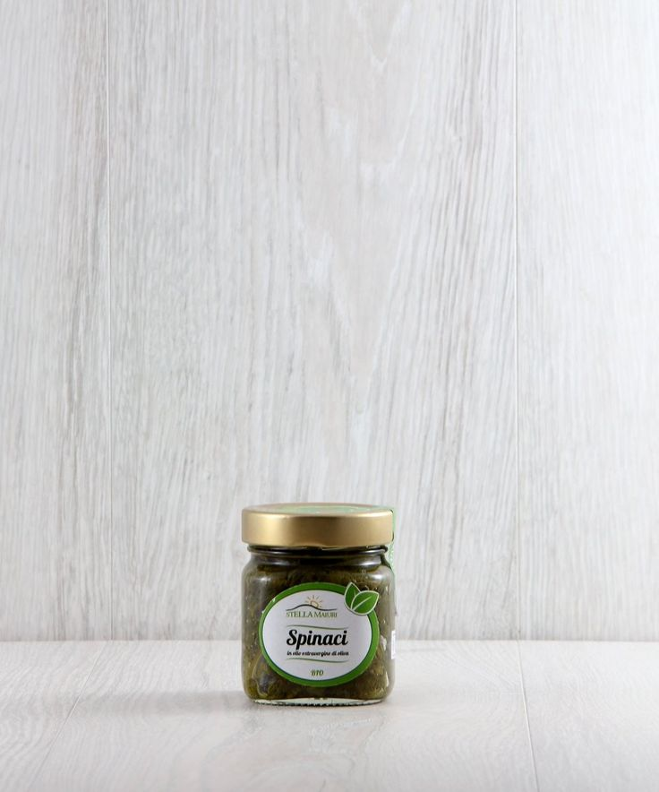 Spinaci in Olio Extravergine d'Oliva BIO - Stella Maiuri € 4,50