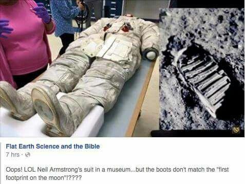 Flat earth #nasalies i just laughed way too hard