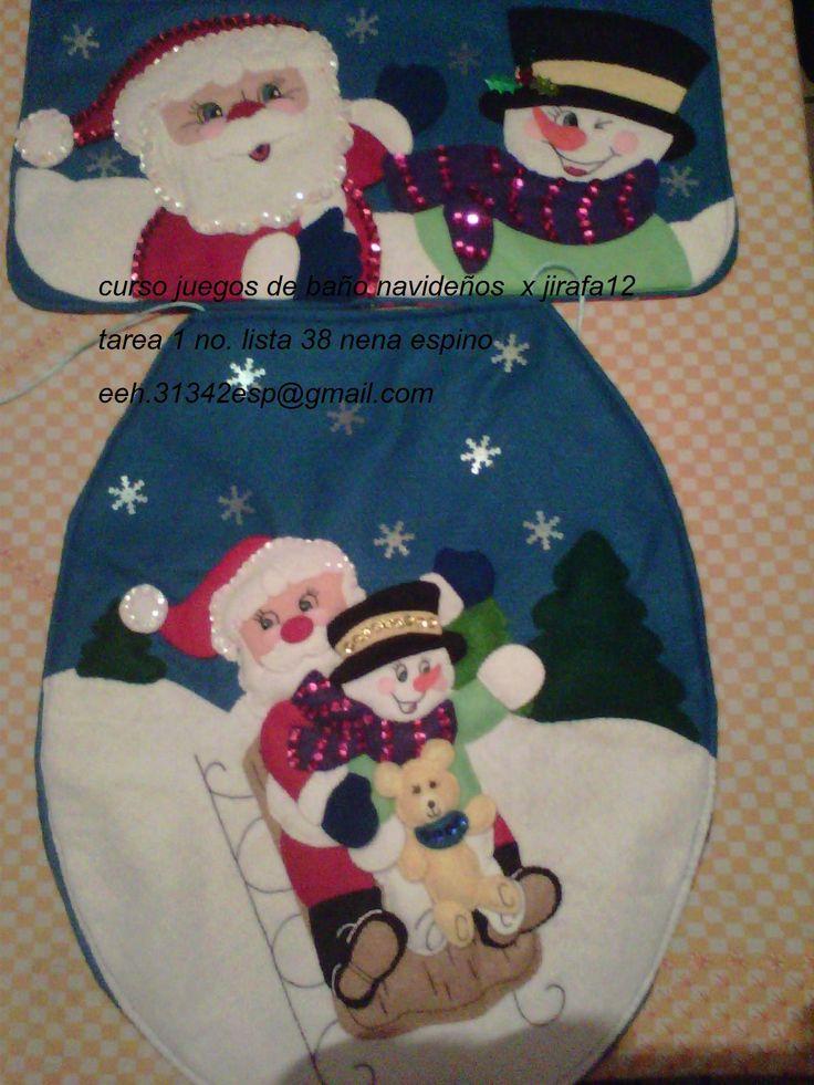 Lenceria De Baño Navidad: PARA EL BAÑO en Pinterest