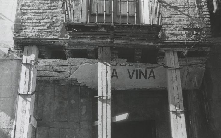 Casa de las Aduanas edificio de Don Diego en la calle Herreria. Año 1970