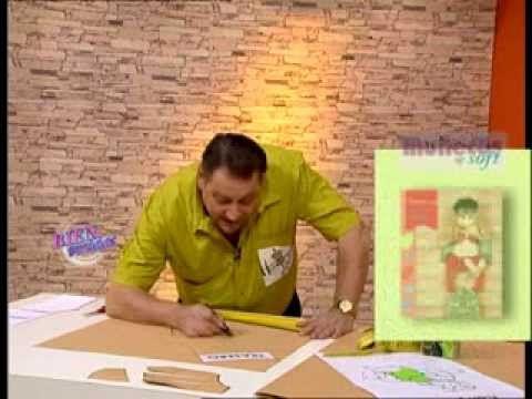 Hermenegildo Zampar - Bienvenidas TV - Explica como armar un enterito de...
