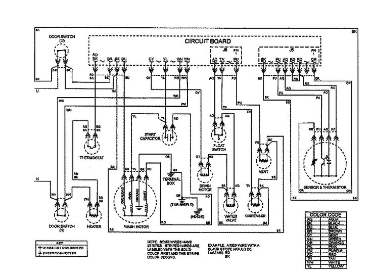 Kitchenaid Dishwasher Wiring Diagram : 36 Wiring Diagram