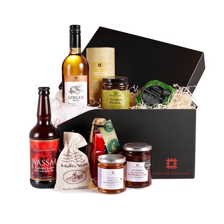 A tasteful alternative to the traditional Christmas hamper, this stylish box contains a selection of premium products from our food and drink range, making a wonderful gift for the foodie in your family.