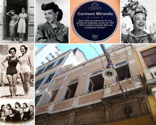 Em Busca da Memória de Carmen Miranda no Rio de Janeiro -  Postado na data de 12/11/2013