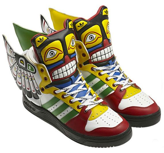 adidas Originals by Jeremy Scott JS Wings Eagle Totem Find this Pin and  more on Shoes