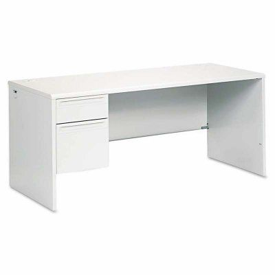 HON 38000 Series Left Pedestal Desk - HON38292LQQ