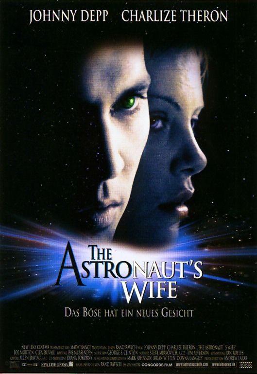 The astronauts wife dvd cover