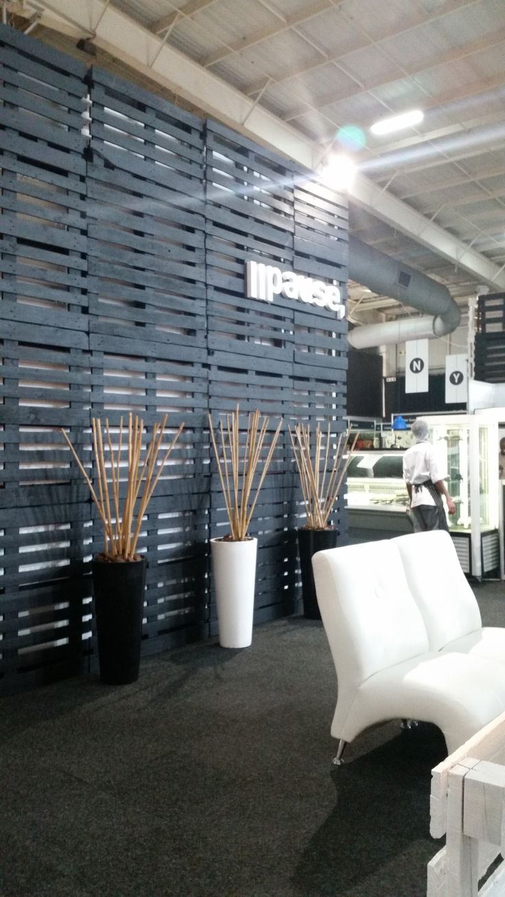 #sarcdachristmasedition2014 #pausecafe #palette #black #cafe #tradeshow  #gleventssouthafrica #glevents