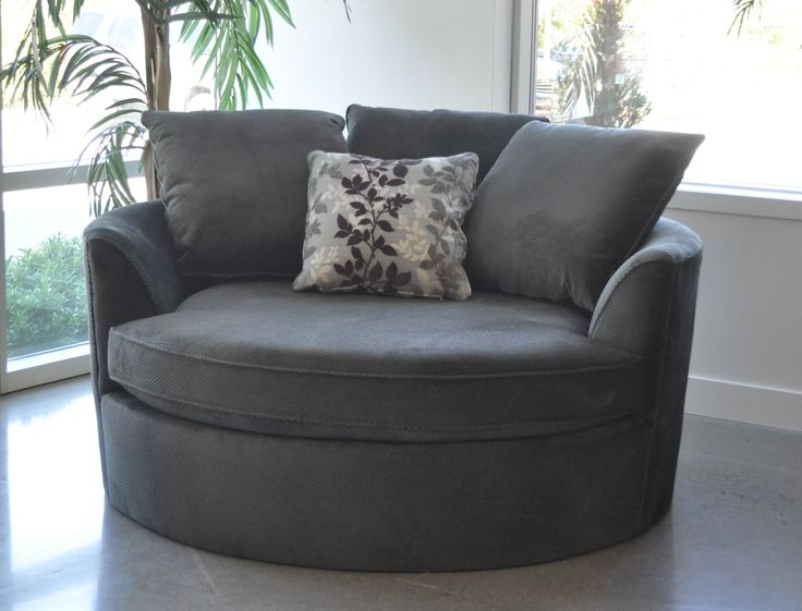 Sit Back And Relax In This Oversize Round Cuddler Chair. Equally At Home On  A Living Room, Bedroom Or Family Room, This Cozy Chair Comfortably Seats 2  ... Part 86