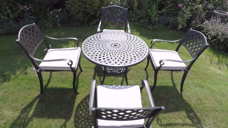 Aluminium Garden Furniture - Windsor 90, 4 seats