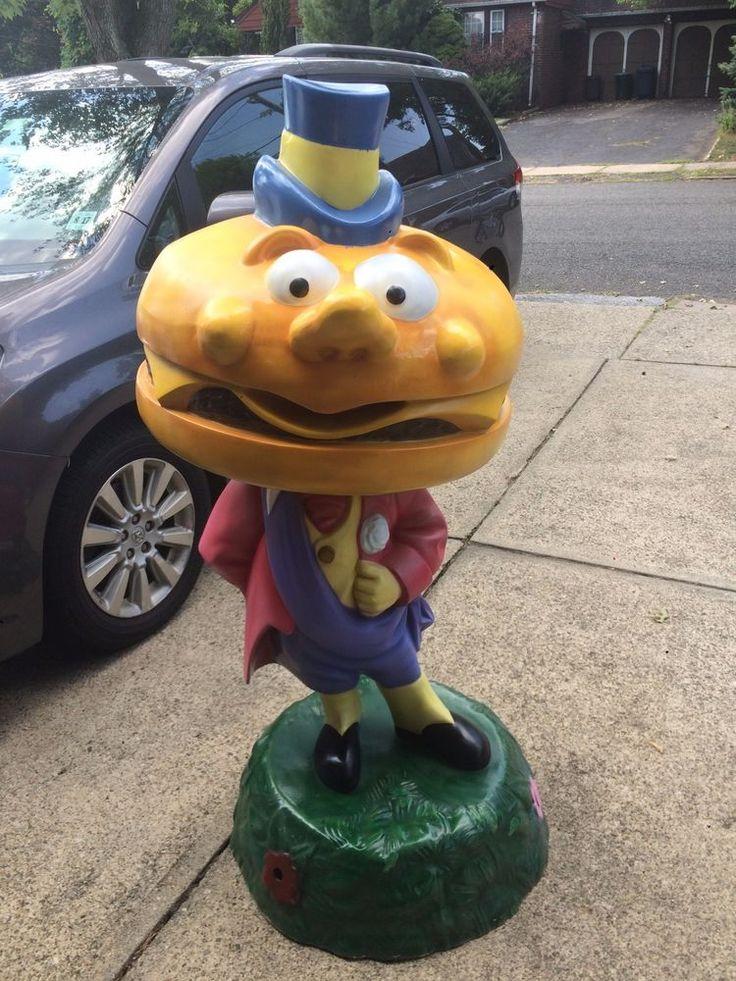 Mayor McCheese statue from McDonald's restaurant / McDonaldland playground in Collectibles, Advertising, Restaurants & Fast Food   eBay