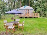 Yurt at Priory Bay Hotel, Seaview Isle of Wight #isleofwight #isleofwightaccommodation #luxury
