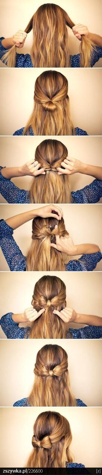 Tutoriel coiffure noeud - Happy Chantilly