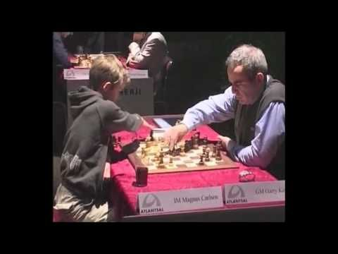 Magnus Carlsen at Reykjavik Rapid 2004  Chess: Reykjavik Rapid 2004 Magnus Carlsen against;Kasparov...and also  Karpov.  You are encouraged to use your imagination creatively and to    …THINK!  To see more:  Click on the link:  http://netkaup.is/2013/10/05/magnus-carlsen-reykjavik-rapid-2004/