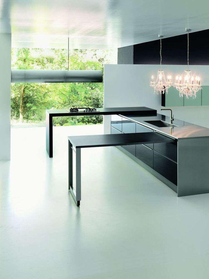 Cucina penisola estraibile (Foto 30/40) | Designmag