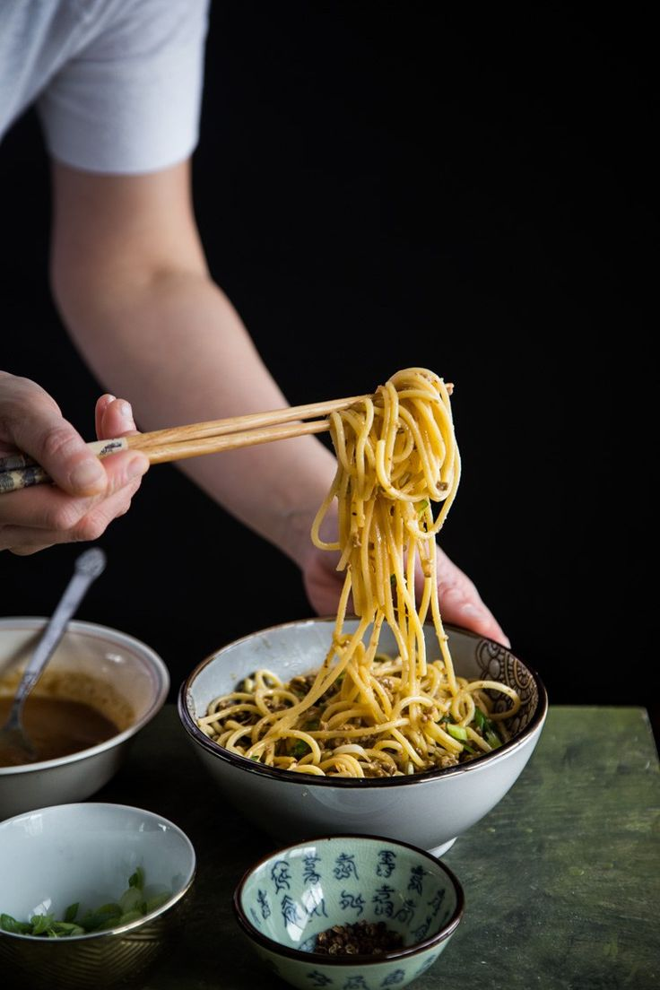 Dan Dan Mian (Spicy Szechuan Noodles). Now you can easily make this at home !!! Spicy or not!