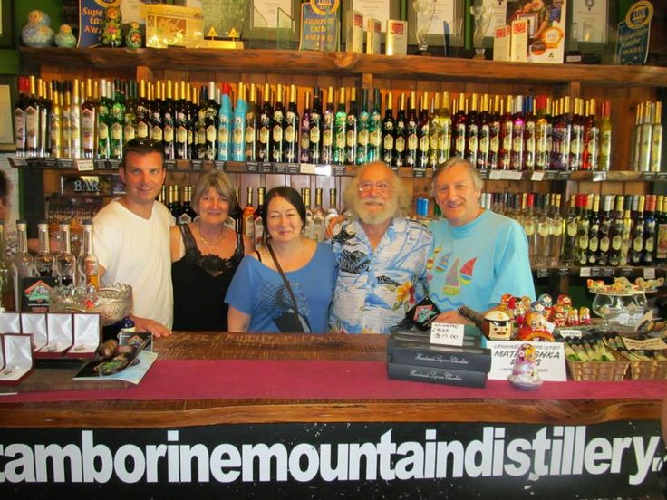 If you want to meet a great character... you need to go up to Tamborine Mountain Distillery and meet Michael.. hes a great guy you will have a great time with... http://ticketsandtours.com.au/travel/tamborine-mountain-distillery/