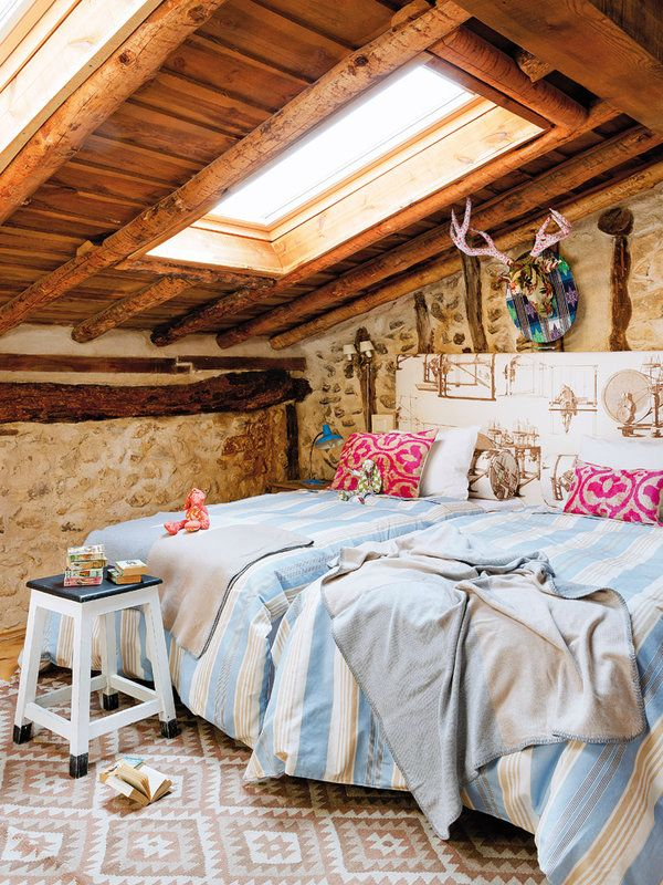 Colorful Rustic Cottage With Character