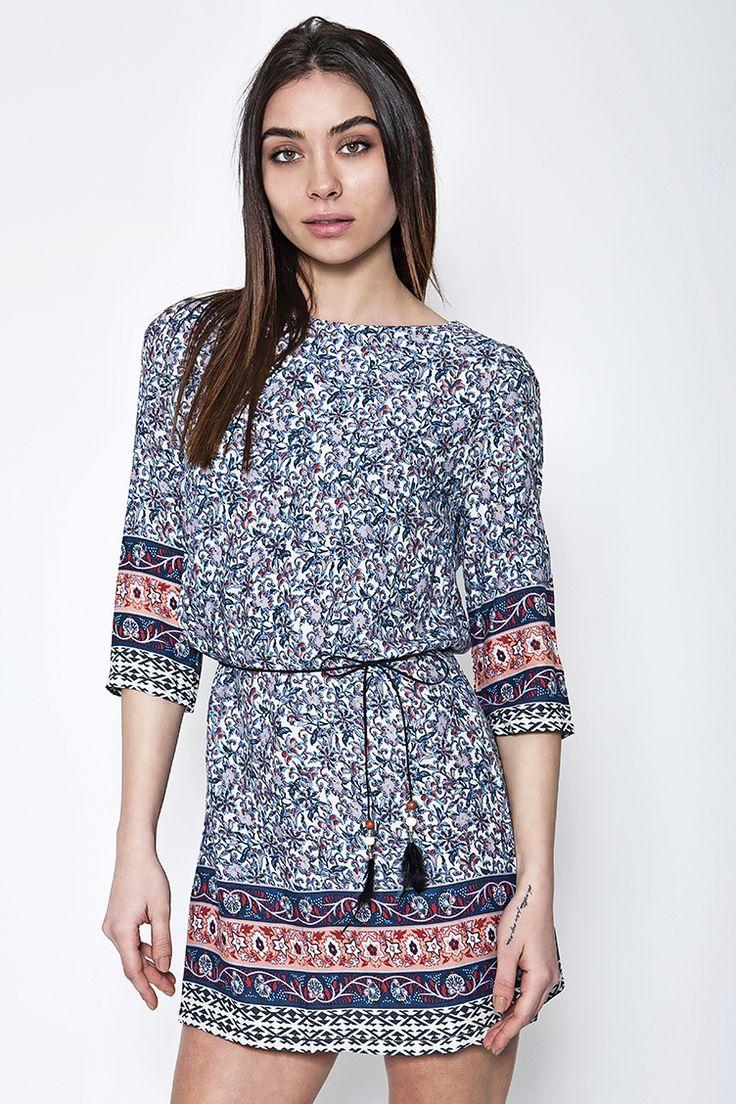 Printed Φόρεμα - ΡΟΥΧΑ -> Φορέματα & Φόρμες | Made of Grace