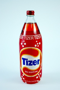 Tizer wonderful orange fizzy stuff, but Mummy would only buy it for parties. We felt very hard done by compared to our cousins who had it all the time.