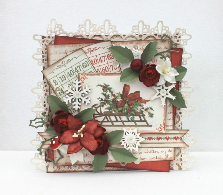 A christmas card by Johanna using the Christmas in Norway collection